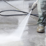 Pressure Wash Your Concrete Before Summer!