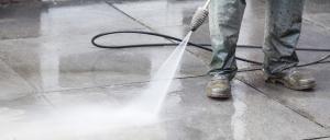 Pressure Wash Your Concrete