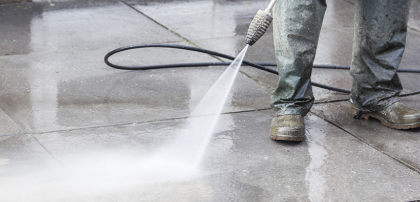 Pressure Wash Your Concrete