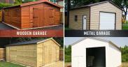 Benefits of Having a Metal Garage over Wood Garage